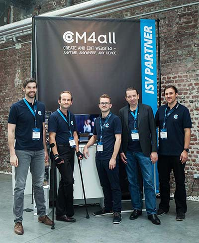 CM4all event participation, Gold sponsor, networking event, Open Exchange, OX summit, open-xchange, Bruxelles, rankingCoach, epages, summa, GoDaddy